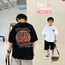 T-shirt White, black, black pre-sale Other / other 130, 140, 150, 160, 170 male summer Short sleeve Crew neck Korean version There are models in the real shooting nothing cotton other Cotton 95% other 5% XHQ12TX1313 Class B other 7, 8, 14, 6, 13, 11, 5, 10, 9, 12 Chinese Mainland Guangdong Province