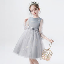 Dress Off white, pure white, pink, elegant gray female Caffeibe 110cm,120cm,130cm,140cm,150cm,160cm Polyester 100% summer Britain Skirt / vest Solid color Pure cotton (100% cotton content) Princess Dress GZ3312 Class B 8, 14, 3, 6, 13, 11, 5, 4, 10, 9, 12, 7 Chinese Mainland