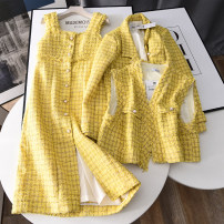 Fashion suit Spring 2021 S,M,L Coat, vest, dress Other / other 30% and below