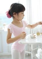Children's performance clothes 1100 (short sleeve) pink, 1100 (short sleeve) rose female 100(L),110(XL),120(2XL),130(3XL),4XL,5XL,6XL Other / other Korean version