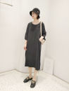 Dress Summer 2021 Mf-8917 smoky polyurethane dress is black, mf-8917 smoky polyurethane dress is blue, mf-8917 smoky polyurethane dress is dark gray, mf-8917 smoky polyurethane dress is coffee Average size