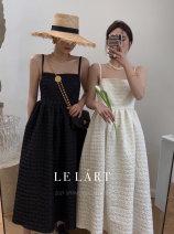 Dress Winter 2020 Black, apricot S, M commute Korean version