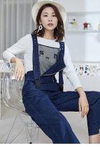 Jeans Spring 2021 Denim blue XS,S,M,L,XL,XXL trousers Natural waist rompers 25-29 years old Cotton elastic denim 71% (inclusive) - 80% (inclusive)