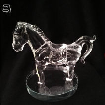 Ornaments animal Artificial crystal Simple and modern Tabletop ornaments Study exorcise evil spirits
