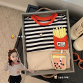 T-shirt Chen Chen's mother 80, 90, 100 (model), 110, 120, 130, 140 female summer Short sleeve leisure time There are models in the real shooting nothing other other Other 100% 12 months, 18 months, 2 years old, 3 years old, 4 years old, 5 years old