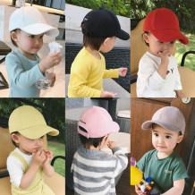 Hat Average size Pink avocado yellow dark milk tea white red black S (44cm) m (47cm) l (50cm) neutral peaked cap leisure time Chen Chen's mother A052