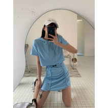 Fashion suit Spring 2021 Average size Blue, gray 18-25 years old Song Zhengen Y612 81% (inclusive) - 90% (inclusive) cotton