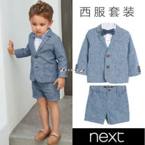 suit Next male No season Britain other 3 pieces Official pictures nothing other cotton Class B Hemp 55% cotton 45% 3 months, 6 months, 12 months, 9 months, 18 months, 2 years old, 3 years old, 4 years old, 5 years old, 6 years old