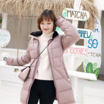 Women's large Winter of 2018 M, l Down jacket singleton  commute moderate Long sleeves Simplicity routine 25-29 years old