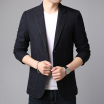 man 's suit Others Fashion City routine M,L,XL,2XL,3XL Self cultivation Double breasted Other leisure No slits youth Long sleeves Four seasons routine Casual clothes 2020
