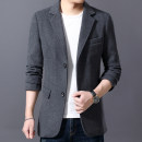 woolen coat Grey, black, top green M,L,XL,2XL,3XL,4XL Others Fashion City CG2021 Polyester 60% wool 40% routine Other leisure Self cultivation youth winter