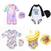 Children's swimsuit / pants Yibaidu M (80-90cm 20-27jin), l (90-100cm 27-35jin), XL (100-110cm 35-43jin), 2XL (110-120cm 43-52jin), s (70-80cm 15-20jin) Children's one piece swimsuit female spandex