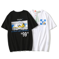 T-shirt other White, black thin M,L,XL,2XL Others Short sleeve Crew neck easy daily summer L2106 Cotton 100% teenagers routine Youthful vigor Cotton wool 2020 Animal design cotton Animal design More than 95%