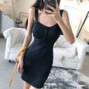 Dress Summer of 2018 Khaki, grey, black Average size