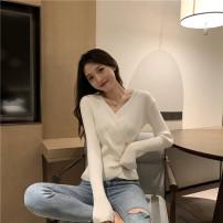 Wool knitwear Winter 2020 Average size (about 100 kg recommended), XL Plus Size (110 ~ 140 kg recommended), 2XL plus size (140 ~ 160 kg recommended), 3XL plus size (160 ~ 180 kg recommended), 4XL plus size (180 ~ 200 kg recommended) White, black, brick red Long sleeves singleton  Socket other Regular