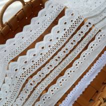 lace One meter for model a, one meter for model B, one meter for model C, one meter for model D, one meter for model E and one meter for model F DIY