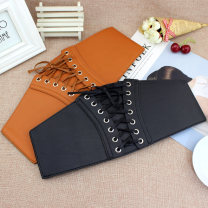 Belt / belt / chain Pu (artificial leather) Red [EL90], black [EL90], camel [EL90], additional purchase + collection store + baby, free freight insurance female Waistband grace Single loop Youth, youth, middle age, old age Leather Wrap Glossy surface 10cm alloy Tightness