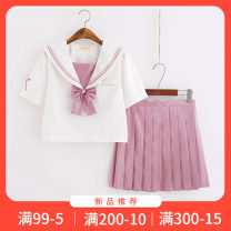 student uniforms Summer 2021, winter 2021, spring 2021, autumn 2021 S,M,L,XL,XXL Short sleeve solar system skirt 18-25 years old Huidongfang