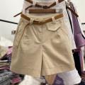 Women's large Summer 2021 S [80-90 Jin], m [90-100 Jin], l [100-120 Jin], XL [120-140 Jin], 2XL [140-160 Jin], 3XL [160-180 Jin], 4XL [180-200 Jin] trousers commute easy thin Solid color Korean version cotton Pant