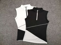 Golf apparel White, black S,M,L,XL female uatitua t-shirt