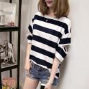 T-shirt Summer 2020 Short sleeve Crew neck easy Regular routine commute cotton 31% (inclusive) - 50% (inclusive) 18-24 years old Korean version originality