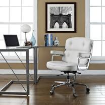 Class chair Fixed armrest Aluminum alloy feet null