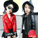 Jacket / leather Other / other female Pink (Caleb), black (Caleb), red (Caleb), pink (cotton), red (cotton), black (cotton) PU leather Korean version spring and autumn routine nothing Zipper shirt There are models in the real shooting 9703 leather jacket stand collar Class B Other 100%