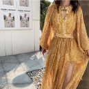 Dress Autumn of 2019 Exotic customs S [don't bump shirt], m [return in 7 days], l [high cost performance] 25-29 years old