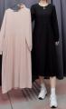 Dress Summer 2021 Pink, black Average size J216825