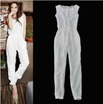 Casual pants Black, white XS,S,M,L,XL Summer 2020 trousers Jumpsuit Thin money