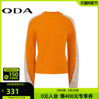 Wool knitwear Winter of 2018 160/80A/S 165/84A/M 170/88A/L Black orange Long sleeves singleton  Socket wool More than 95% Regular routine commute easy Solid color Socket literature 25-29 years old QDA Wool 100% Same model in shopping mall (sold online and offline)