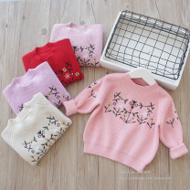 Sweater / sweater other female Other / other Korean version No model Socket routine Crew neck nothing Ordinary wool Other 100% 2 years old, 3 years old, 4 years old, 5 years old, 6 years old, 7 years old