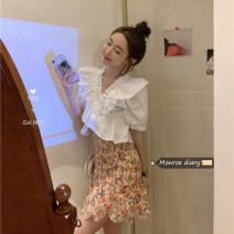 Fashion suit Summer 2021 Average size Shirt 91722, skirt 91726# 18-25 years old 30% and below
