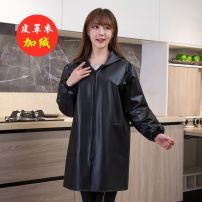 apron Sleeve apron waterproof Korean version other Household cleaning Average size public yes Solid color