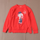 Sweater / sweater 110cm,120cm,130cm cotton female gules Cartoon characters Six, seven, eight, nine, ten, eleven