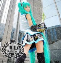 Cosplay women's wear Other women's wear Customized Over 3 years old Clothes, headgear, black socks Animation, games One size fits all City of white night Japan Cute, Gothic, maid, otaku, campus, Lolita VOCALOID / V home Hatsune Miku Hatsune Miku