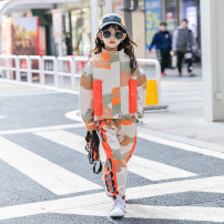 suit Other / other camouflage 120 cm, 120 cm, 120 cm, 120 cm, 120 cm, 120 cm, 120 cm, 120 cm, 120 cm, 120 cm, 120 cm neutral spring and autumn Korean version Long sleeve + pants 2 pieces routine There are models in the real shooting Zipper shirt nothing other cotton Expression of love Class B