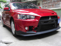 Surrounded by cars yehngtin Wing God Automobile modified parts ABS wide enlargement Side skirt, others Support installation Front bar + rear bar
