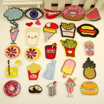 Cloth stickers Solo embroidery Cartoon animation