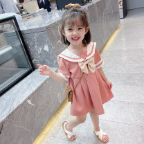 Dress female Other / other 90cm,100cm,110cm,120cm,130cm Other 100% summer Korean version Long sleeves Solid color Chiffon A-line skirt Class B 18 months, 2 years old, 3 years old, 4 years old, 5 years old, 6 years old, 7 years old Chinese Mainland Zhejiang Province Huzhou City