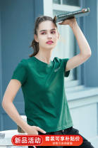 Pajama Top female Xusany / xuexianli 160(M) 165(L) 170(XL) 175(XXL) green Short sleeve Simplicity youth Leisure home summer Thin money Crew neck Solid color Socket cotton 81% (inclusive) - 95% (inclusive) Knitted cotton fabric Cotton 94% polyurethane elastic fiber (spandex) 6% Summer 2021 200g