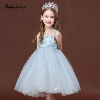 Dress sky blue female Other / other 5-100,7-110,9-120,11-130,13-140 Other 100% spring and autumn princess Long sleeves Solid color polyester fiber A-line skirt Class B 3 years, 18 months, 9 months, 5 years, 7 years, 8 years, 12 months, 3 months, 6 years, 6 months, 2 years, 4 years Chinese Mainland