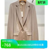 suit Spring 2020 0,2,4,6,8 Long sleeves tailored collar A button routine 30-34 years old 96% and above silk