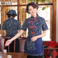 Apron suit Household cleaning Average size pure cotton other Lotus of seven antifouling