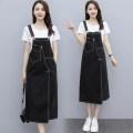 Dress Summer 2021 Picture color S,M,L,XL Short sleeve commute straps