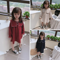 Dress Blue, red, beige female Other / other The recommended height is 90cm-100cm for size 7, 100cm-110cm for size 9, 110cm-120cm for size 11, 120cm-130cm for size 13 and 130cm-140cm for size 15 Other 100% spring and autumn af65181 Seven, six, five, four, three, two