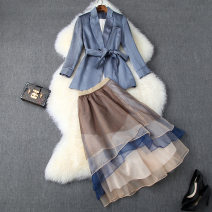 Fashion suit Autumn of 2019 S,M,L,XL blue T10155
