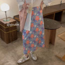 skirt Summer 2021 S. M, l, average size 12915 shirt, 13001 skirt Middle-skirt commute High waist A-line skirt other Type A 18-24 years old 12915+13001 other other Korean version