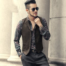 Vest / vest Fashion City Mixlimited / men's Club S M L XL Other leisure Self cultivation Vest M126 Cotton 100% Fall 2017