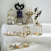 Fruit pot / tray / basket Gold 19119